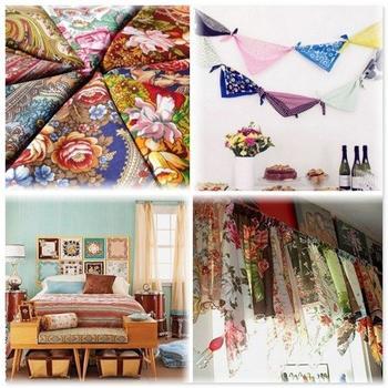 Бабушкин платок в дизайне интерьера