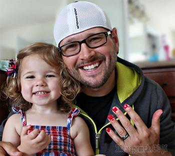 30 смешных примеров того, что бывает, когда дочери берутся за преображение своих отцов