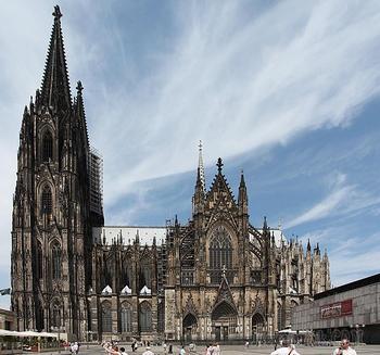Германия - калейдоскоп эпох, политик и культур. Часть 4. Кёльн - жемчужина на Рейне