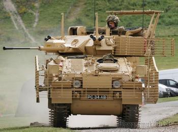 Боевая разведывательная машина FV107 SCIMITAR