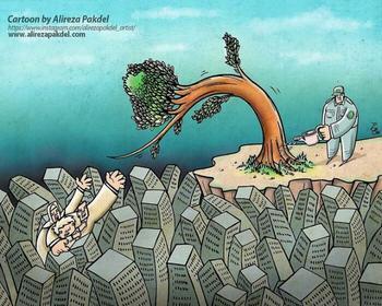 Критический взгляд на современное общество глазами иранского художника Алирезы Пакдел