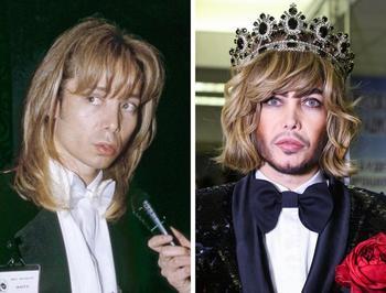 Российские знаменитости, которые со временем будто превратились в других людей