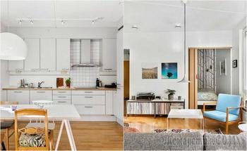 Почти хрущёвка: Квартира, где маленькая площадь не стала помехой для удобного и стильного интерьера