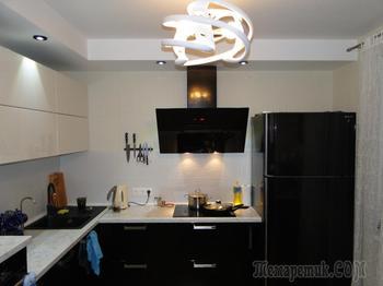 Кухня: удобно, строго и просто красиво