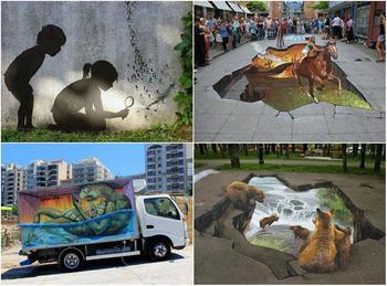 30 красочных стрит-арт работ из разных уголков Земли