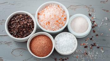 12 видов соли и способы их применения в кулинарии