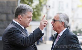 """Саммит Украина — ЕС окончился скандалом из-за фразы о """"европейских устремлениях"""""""