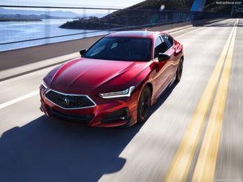 Acura TLX & TLX Type S 2021: первые подробности о спорт-седане