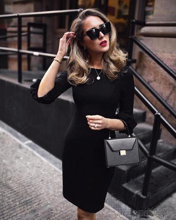 Черное платье: модные тренды 2018 и 25 восхитительных образов