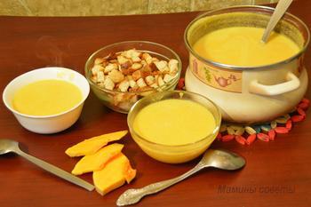 Суп-пюре из тыквы: нет ничего проще и вкуснее!