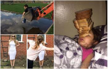 15 безобидных розыгрышей, как следствие большой любви между братьями и сестрами