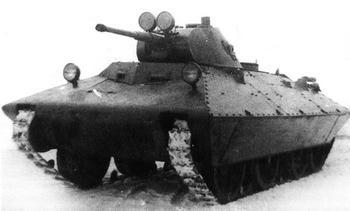 Лёгкий танк БТ-СВ-2 «Черепаха»