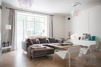 Дизайн в 3-комнатной квартире: минимализм и классика