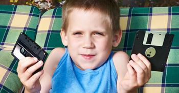 86% британских детей не узнают на фото пейджеры
