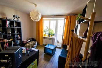 Квартира для айтишницы и диджея, разделенная стеной