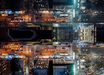 """Потрясающие аэрофотоснимки, показывающие """"Скрытый город"""" внутри Нью-Йорка"""