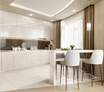 Маленькая кухня? 5 идей увеличить пространство без ремонта!