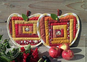 А давайте сошьём яблочки