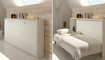 10 практичных идей, которые помогут разместить кровать и на маленьких площадях