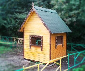 Детский игровой домик для дачи своими руками