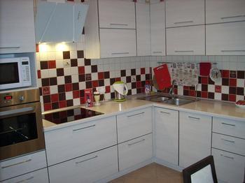 Кухня: с рабочим и спальным местами