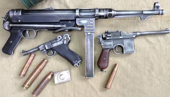 Стрелковое оружие Вермахта Второй мировой войны – шмайссер и другие