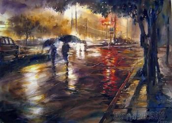 Дождливою осеннею порой...(Стих)