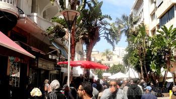 Марокко. Касабланка. По пешеходной зоне