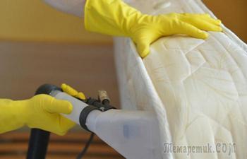 7 «реальных» способов почистить матрас своими силами при помощи копеечных средств