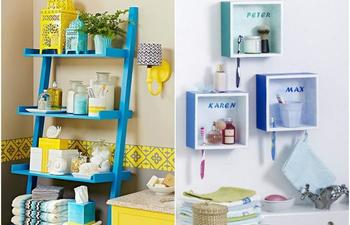 25 невероятно крутых идеи для тех, у кого маленькая ванная