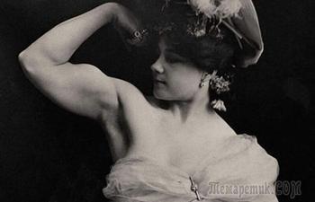 Как выглядели первые дамы-бодибилдеры: Фотографии чудо-женщин прошлого века