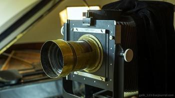 Анатоль Грин - российский фотограф снимает и делает снимки по технологии ХIХ века