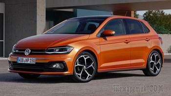 Главные плюсы и минусы обновлённого VW Polo 6-го поколения из России