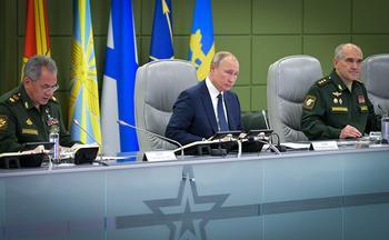 СМИ узнали о нештатной ситуации на учениях под руководством Путина