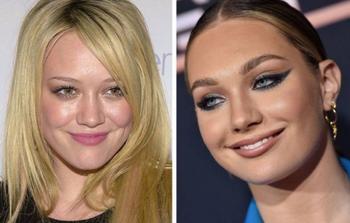 Голливудские знаменитости одного возраста, но разных поколений