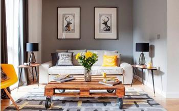 Нестандартные столы, которые украсят любую гостиную
