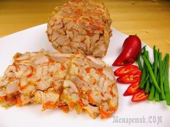 Домашний рецепт мясной нарезки - вместо колбасы