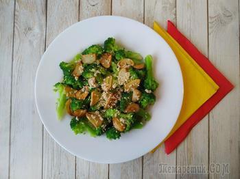 Салат из брокколи, детокс после новогодних праздников!