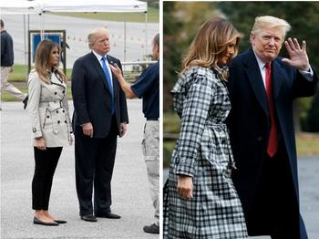 8 главных деталей осеннего гардероба Мелании Трамп
