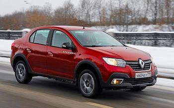 Renault Logan Stepway: все его достоинства и пара минусов