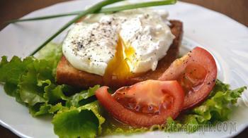 Яйца пашот (два способа приготовления)
