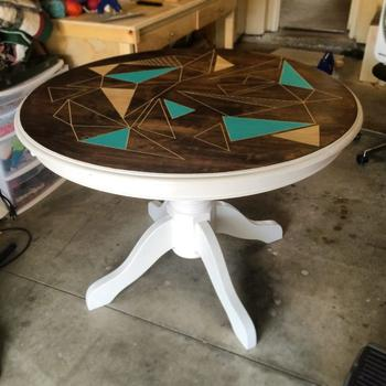 Обновляем старый стол