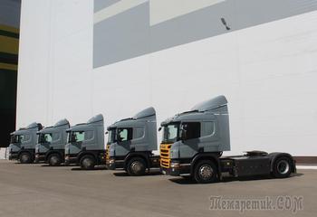 ГК «Грейн Холдинг» стал обладателем газомоторной техники Scania