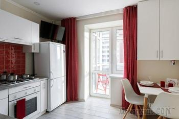 Дизайн однокомнатной квартиры 35 кв. м.