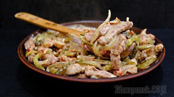 Мясо по-курземски – очень вкусный и простой рецепт из мяса