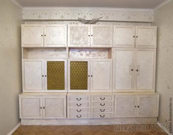 Как сделать старую мебель современной, декорирование