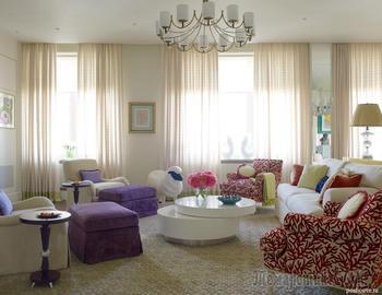 Красочные апартаменты в Москве