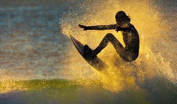 Сёрфинг во всей красе - 21 фото для летнего настроения