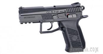 Пневматический пистолет ASG CZ 75 P07 Duty — один в один как чешский боевой