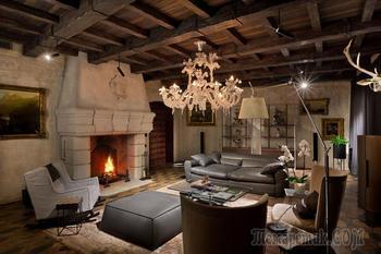 Роскошный особняк в стилистике итальянского региона Тоскана